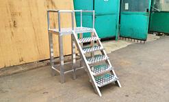 Сварные алюминиевые лестницы