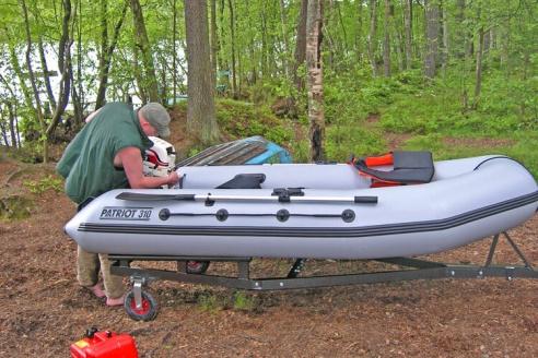 Прицепы для лодок пвх в чебоксарах